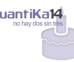 QuantiKa14 cumple 3 años!!!