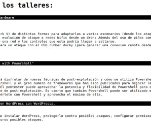 Sec/Admin: Taller sobre seguridad en WordPress