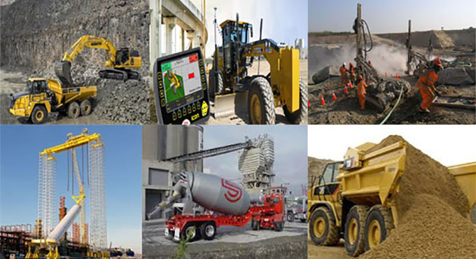 Construction Equipments and their various usages