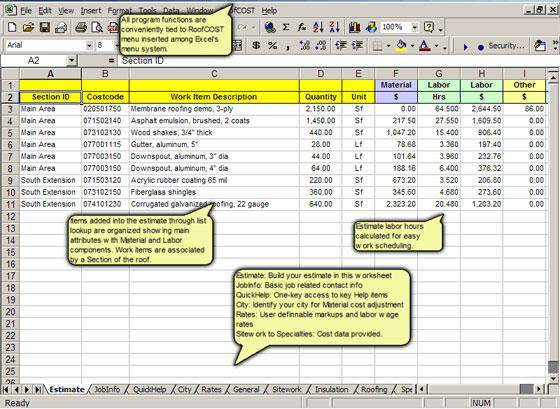 Roofing Cost Estimator