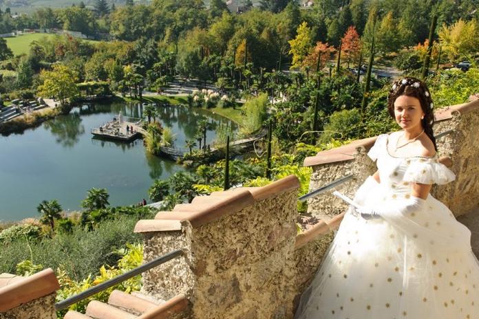 I giardini Trauttmansdorff a Merano i giardini di Sissi