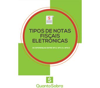 ebook tipos de notas fiscais eletrônicas