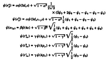 Carl J. Ballhausen : Quantum Mechanics and Chemical