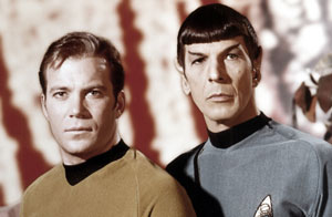 "Not that you have to everything at the beginning.   The original Star Trek was just ""Wagon Train to the Star,"" and with its occasionally simplistic Cold War sensibilities could be quite two-dimensional. Plus, Kirk wasn't in the original pilot, and the first characterization of Spock lacked ""Vulcan Logic."" Today the Star Trek universe is incredibly rich -- largely because the outlines of the original idea were wisely laid."