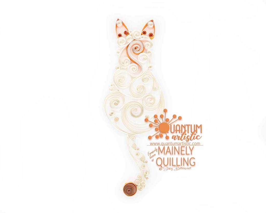 Flame Point Scrollwork Cat
