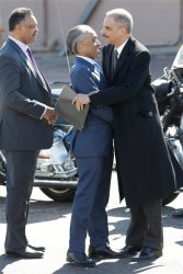 What did Sharpton find in the Attorney General's pocket?
