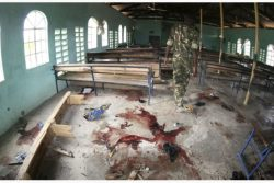 Kenyan Church after attack
