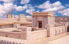Temple in Jerusalem, destroyed for our sins