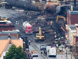 Lac Megantic aftermath