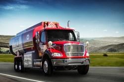 Pepco oil delivery truck