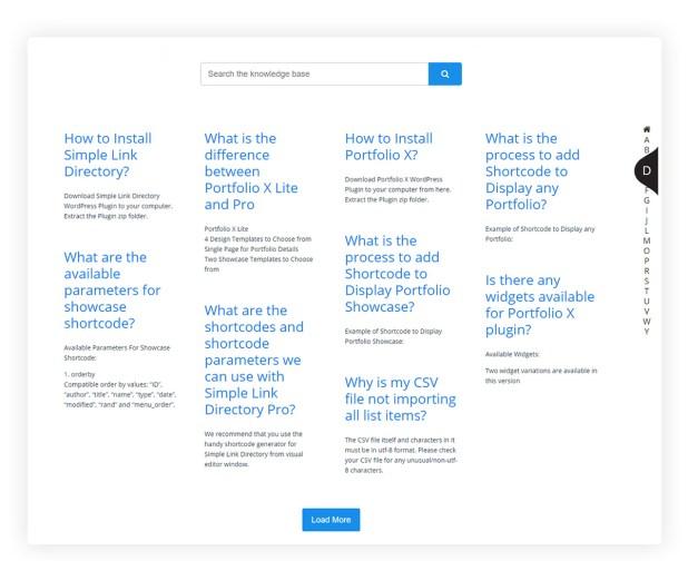 KnowledgeBase Glossary, FAQ & HelpDesk ChatBot - 9