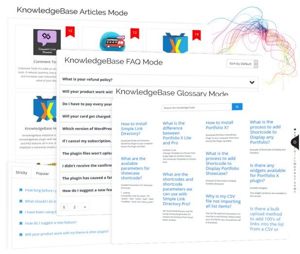 KnowledgeBase Glossary, FAQ & HelpDesk ChatBot - 3