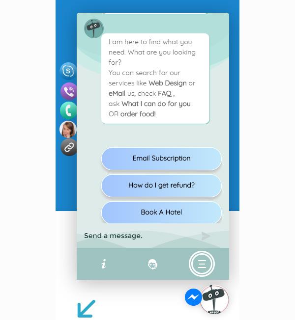 ChatBot for FaceBook Messenger - 5
