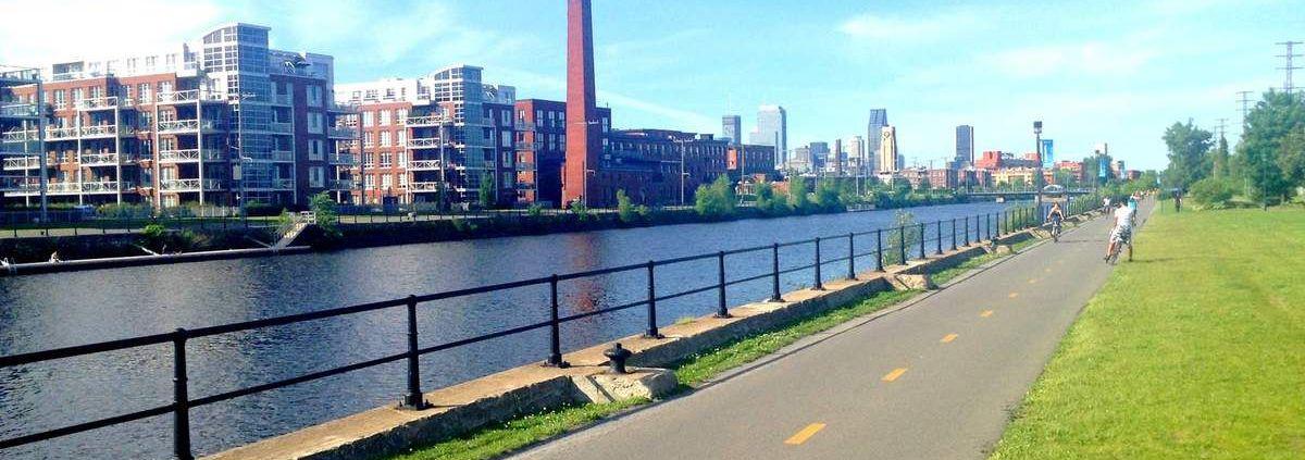 canal Lachine vélo