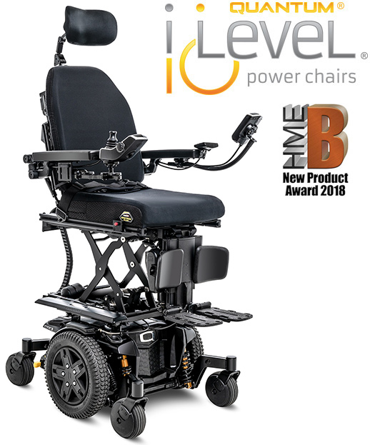 Learn About The Quantum iLevel Power Wheelchair  Quantum
