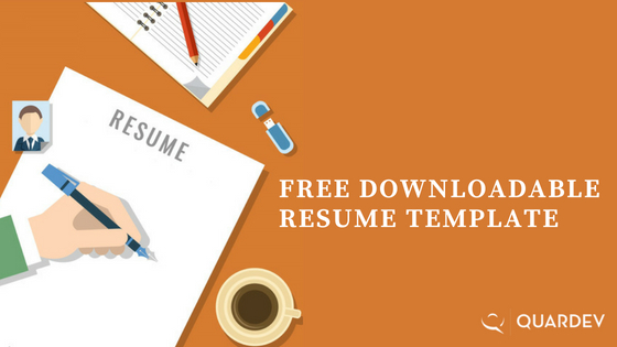 Free Download - Resume Template