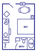 King_Room_layout