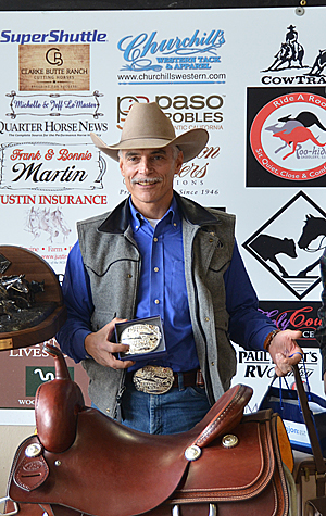 Peter Spadoni wins the Futurity Amateur Championship