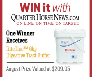 Win it with QuarterHorseNews.com
