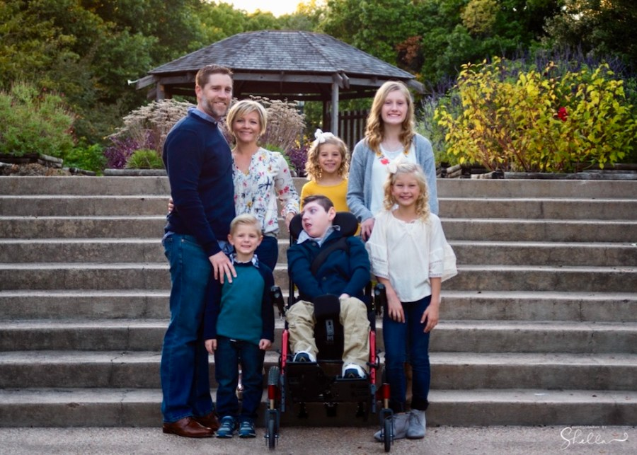 Shane Plummer's wife and children
