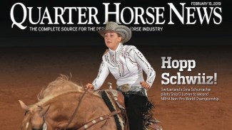 Quarter Horse News February 15, 2019, cover