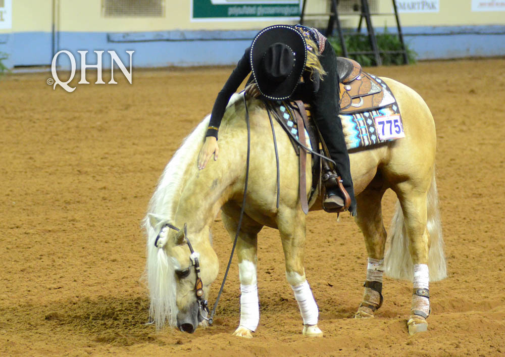 Wow! Jennifer Neudorf Sweeps NRHA Derby Non-Pro
