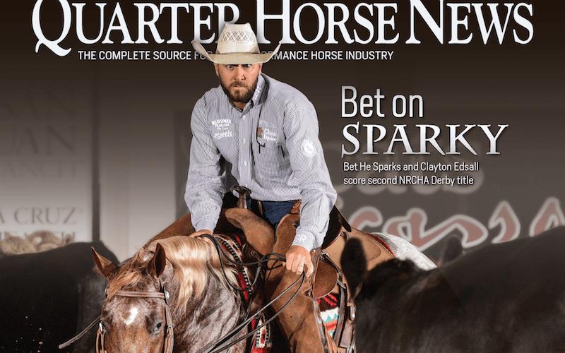 Quarter Horse News magazine cover july 15, 2019