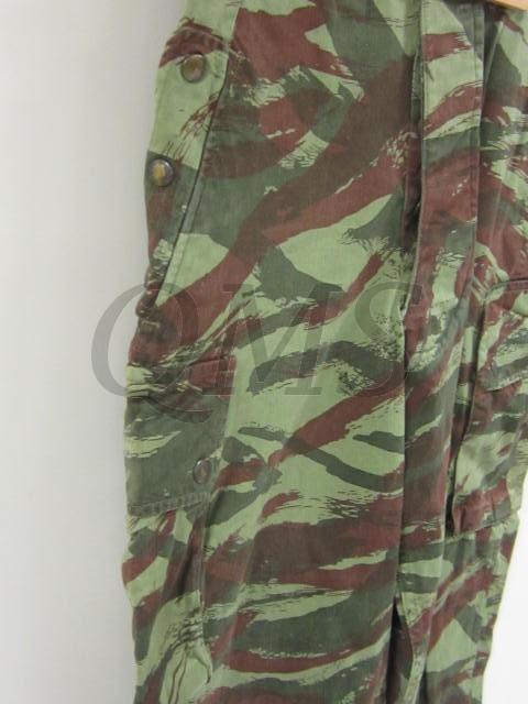 Trousers French TAP47 lizard pattern camouflage Pantalon