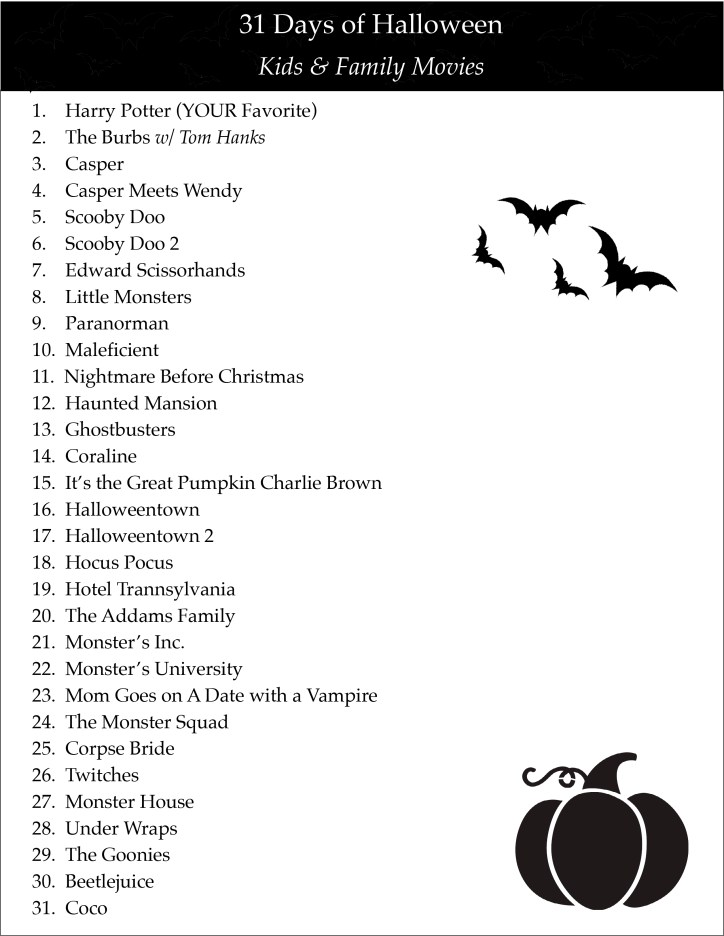 31 days of halloween kids family scary movies quarter soul crisis. Black Bedroom Furniture Sets. Home Design Ideas