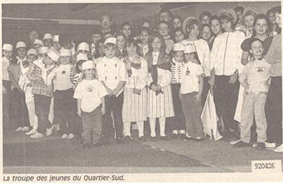 Troupe du Quartier-Sud 1991