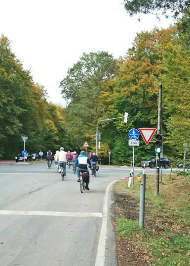 Spezielle Ampel für Radfahrer (Behindertengerecht)