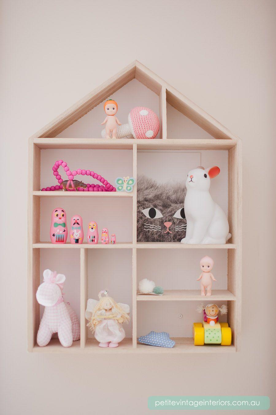 Nicho casinha  tendncia na decorao do quarto de beb