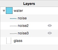 layer list hidden