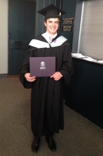 Quastuco Silviculture graduate, Ian Gwynne.