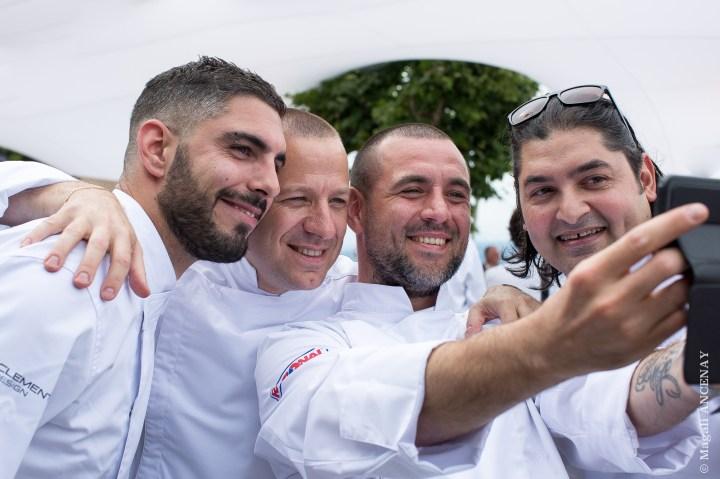 Simon Pacary, Marc de Passorio, Julien Diaz et Alan Geeam