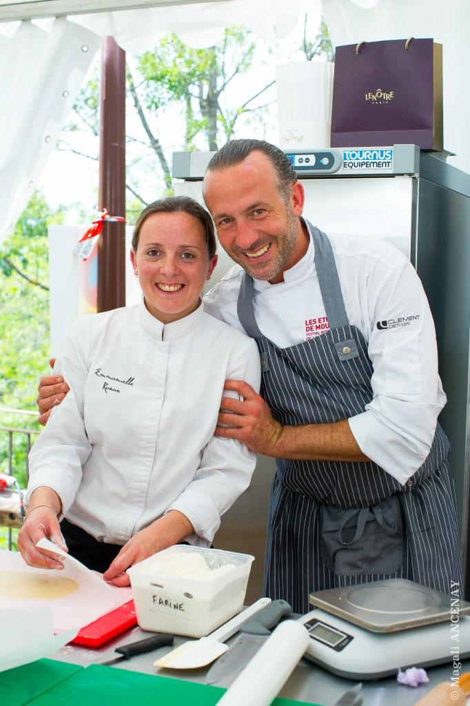 Jean François Bérard et Emmanuelle Ronan - Hostellerie Bérard et Spa