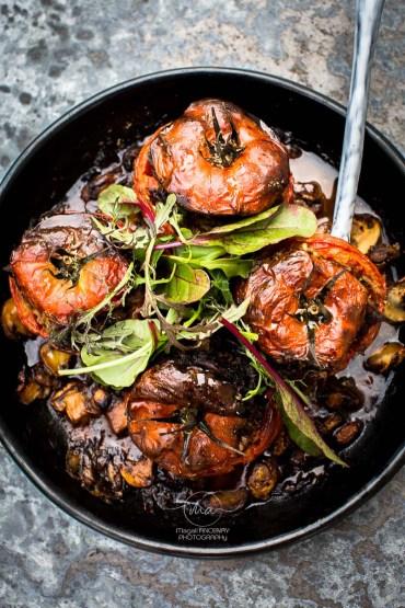 Tomates farcies agneau - Magali ANCENAY Photography