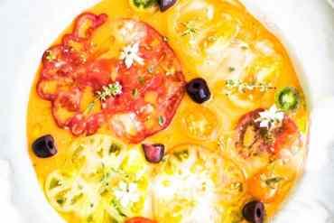 Eau de tomates- Magali ANCENAY photographe culinaire