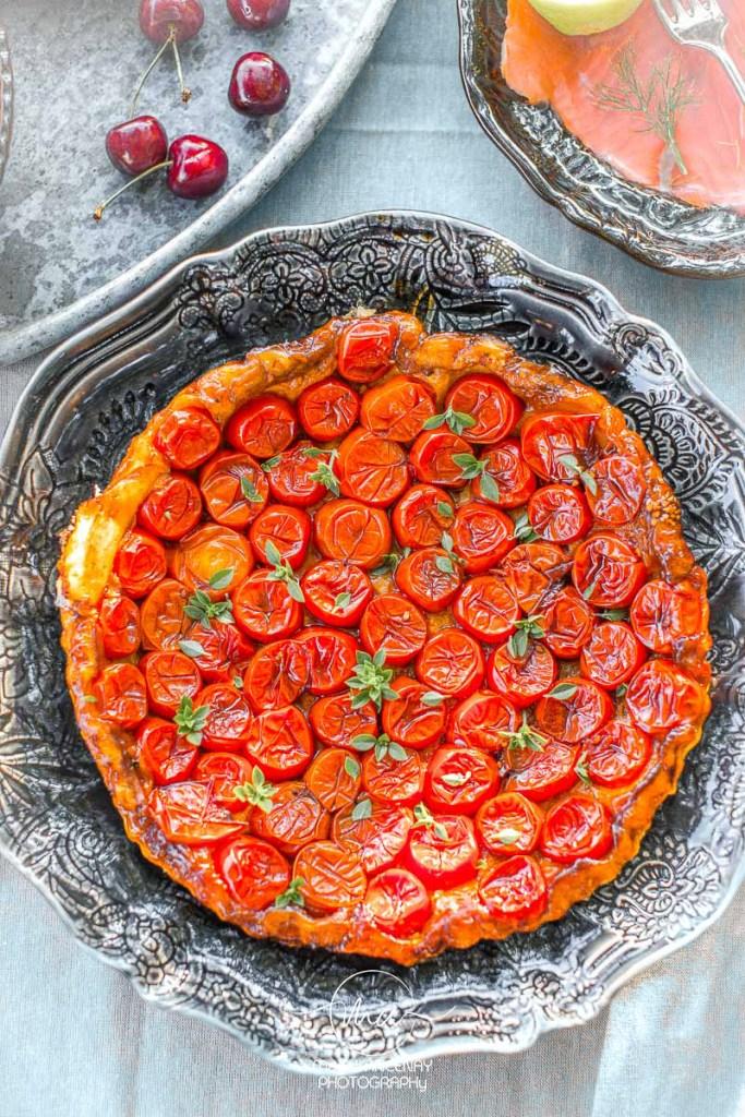 Tatin de tomates cerises Magali ANCENAY Photographe Culinaire