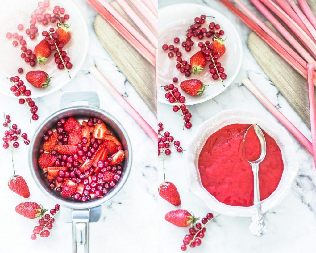 Coulis de fruits rouges - Magali ANCENAY PHOTOGRAPHE Culinaire