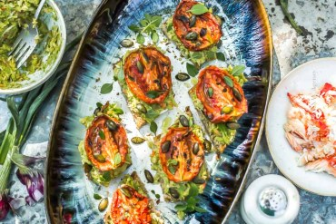 Les tomates confites du chef Christophe Adam - Magali ANCENAY Agency