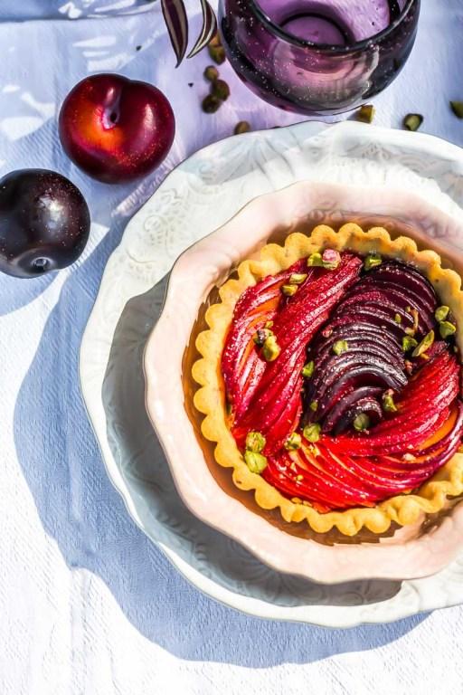 Tarte aux prunes Métis® - Magali ANCENAY AGENCY