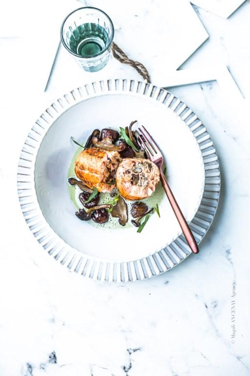 Ballotine de saumon - Magali ANCENAY