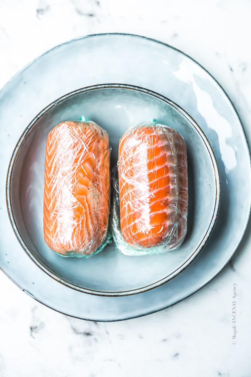 Ballottine de saumon - Magali ANCENAY