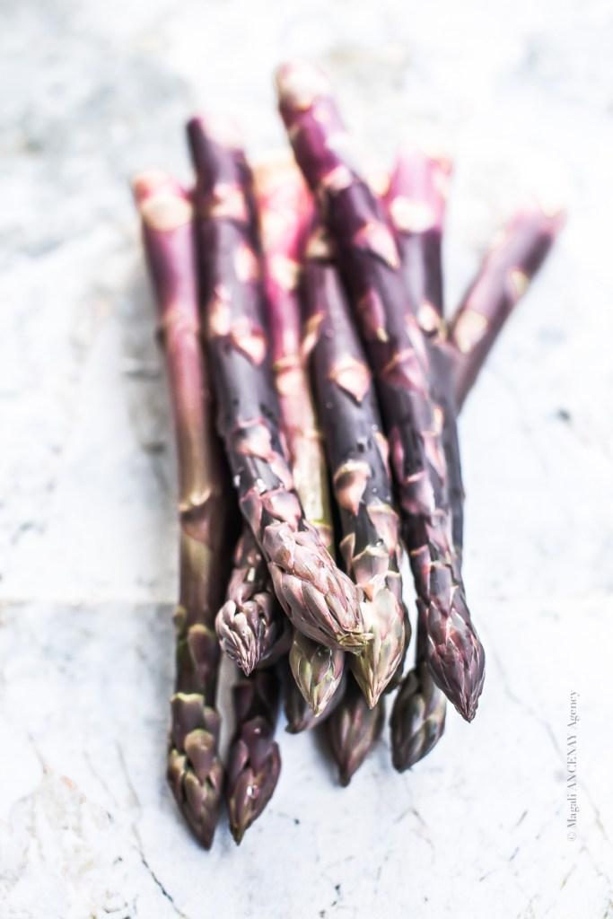 Asperges violettes - Magali ANCENAY
