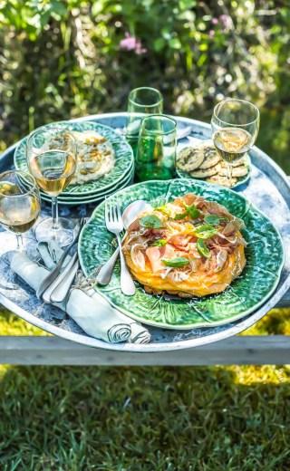 Le melon jambon du chef Zanoni Simone