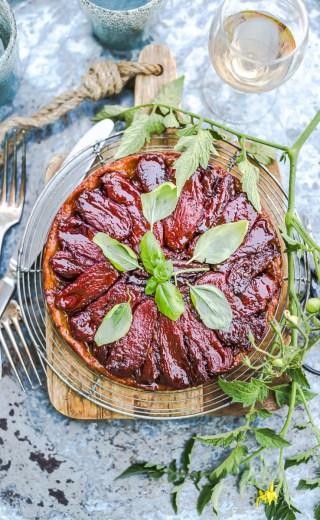 La Tatin de tomates du chef Zanoni Simone