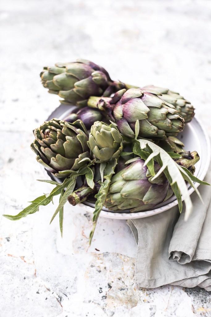 Artichauts violet de Provence - Magali ANCENAY