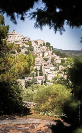 Le Luberon, de Cavaillon à Gordes