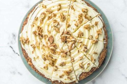Carrot cake ottolenghi - Magali ANCENAY